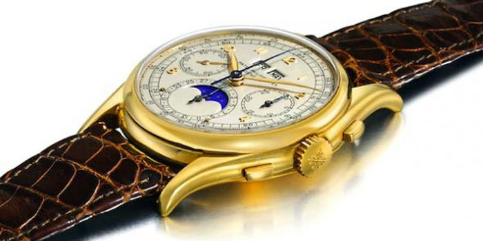 Patek Philippe Reference 1527 Wristwatch: US$5,708,833.