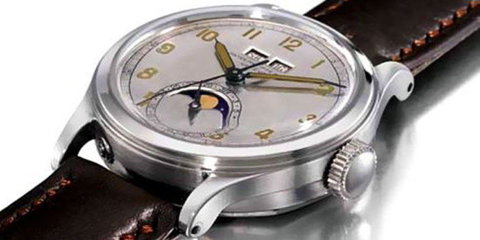 World's Most Expensive Watch #14: Patek Philippe Model 1591 (1944): US$$2,263,964.