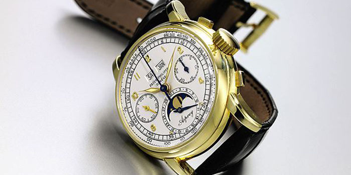 Patek Philippe Single Button Chronograph Watch: US$1,773,206.