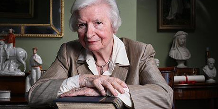 P. D. James (1920-) - she is most famous for a series of detective novels starring policeman and poet Adam Dalgliesh.