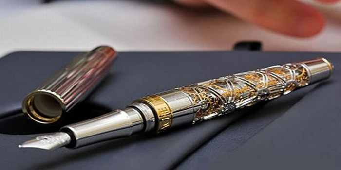 Caran d'Ache '1010' Fountain Pen.