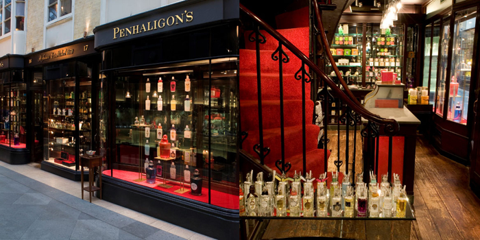Penhaligon's store in the Burlington Arcade, London, England, U.K.