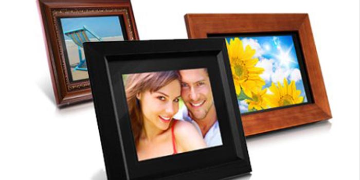 Pineider photo frame.