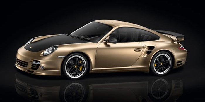 Porsche 911 Turbo S China 10 Year Anniversary Edition.