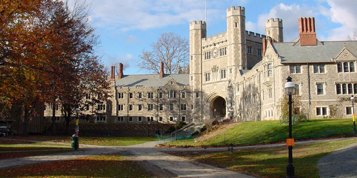 Princeton University, Princeton, New Jersey, U.S.A. Ranked No. 6 by the Times Higher Education World University Rankings 2012-2013.
