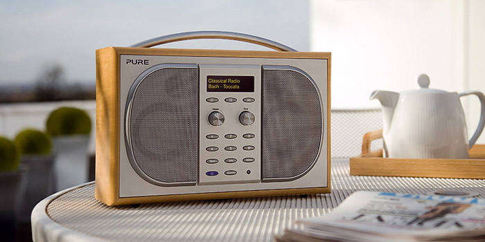 Pure Evoke 2S Portable Stereo DAB Digital and FM Radio.