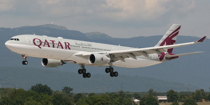 Qatar Airways Airbus A330-200.