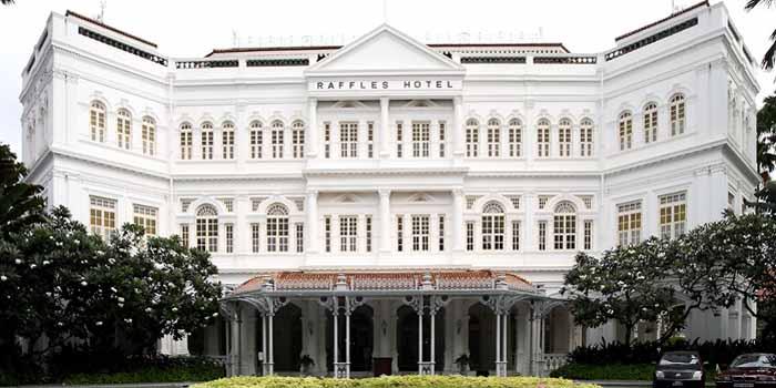 Raffles Hotel, 1 Beach Road, Singapore 189673.