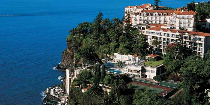 Reid's Palace Hotel, Estrada Monumental 139, 9000-098 Funchal, Madeira, Portugal.