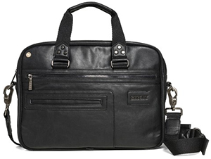 Replay Men's Faux leather messenger bag: US$170.