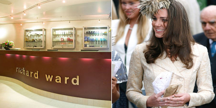 Kate Middleton favors the Richard Ward Salon in 82 Duke of York Square, Chelsea, London SW3 4LY, U.K.