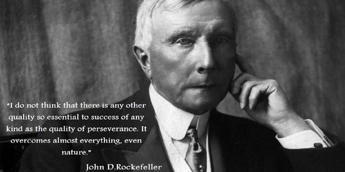 John D. Rockefeller (1839-1937). American industrialist and philanthropist. He was the founder of the Standard Oil Company and world's first US$-billionaire. Net worth in today's money: US$340 billion.