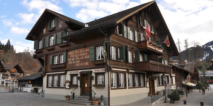 Posthotel Rössli, Promenade 10, CH-3780 Gstaad, Switzerland.