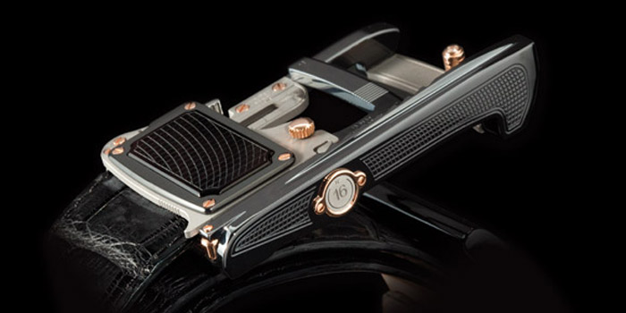 Roland Iten: the Calibre R8 MkII mechanical belt buckle series.