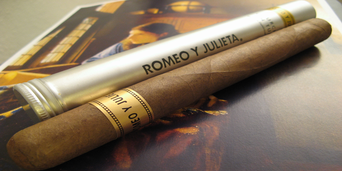 Romeo y Julieta - Sir Winston Churchill's favorite cigar brand.