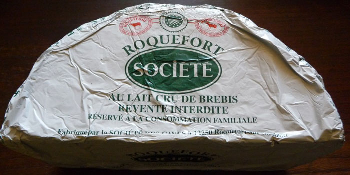 Roquefort cheese.