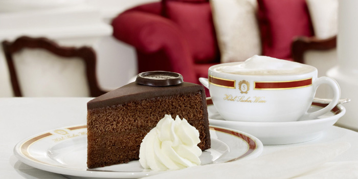 Original Sacher-Torte. The most famous cake in the world since 1832.