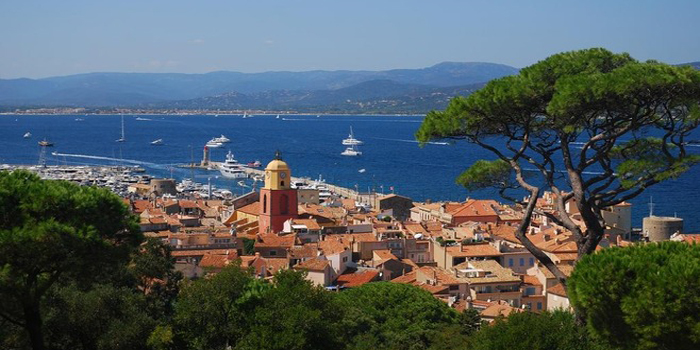 Saint-Tropez - in the Var department of the Provence-Alpes-Côte d'Azur region of southeastern France.