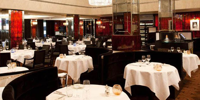 Savoy Grill at The Savoy Hotel, Strand, Westminster, London WC2R 0EU, England.