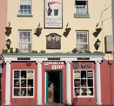 Sean's Bar, 13 Main Street, Athlone, Co. Westmeath.