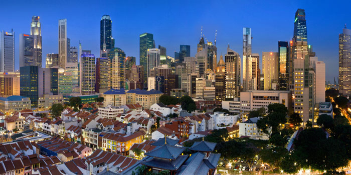 Singapore, Central Area, Republic of Singapore.