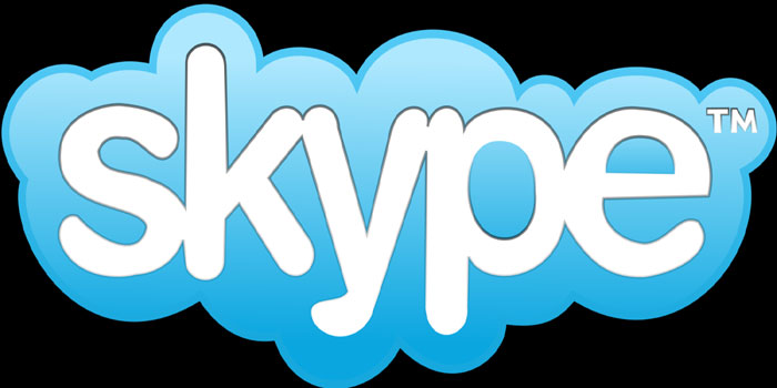 Skype - proprietary voice-over-IP service and software application. Allows users to communicate with peers by voice using a microphone, video by using a webcam, and instant messaging over the Internet.