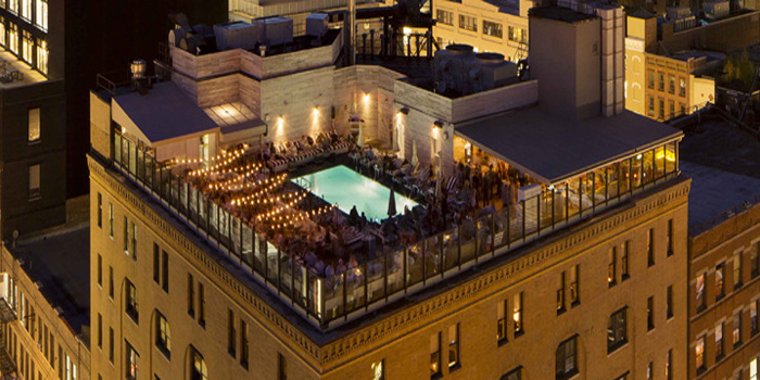 Soho House New York, 29-35 9th Ave, New York, NY 10014, U.S.A. Founded in 1995.