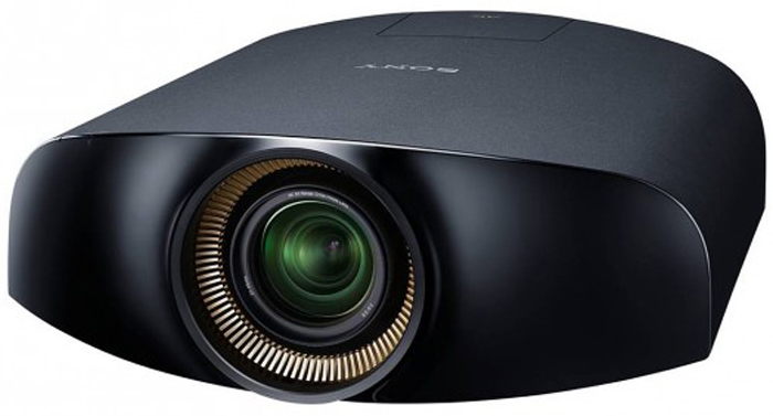The Sony VPL-VW1000ES is the world's first 4K home cinema projector.