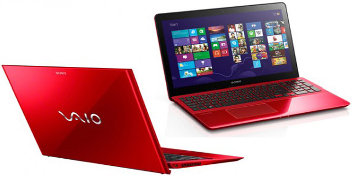 Sony VAIO Red Series.