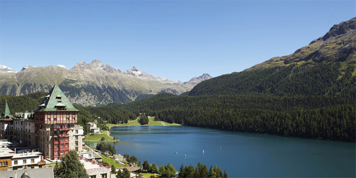 St. Moritz in the summer.