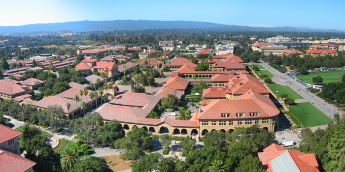 Stanford University, Stanford, California, U.S.A. Ranked No. 2 by the Times Higher Education World University Rankings 2012-2013.