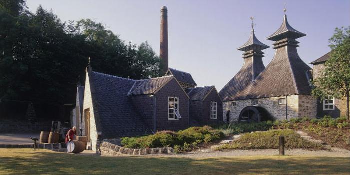 Strathisla Distillery.