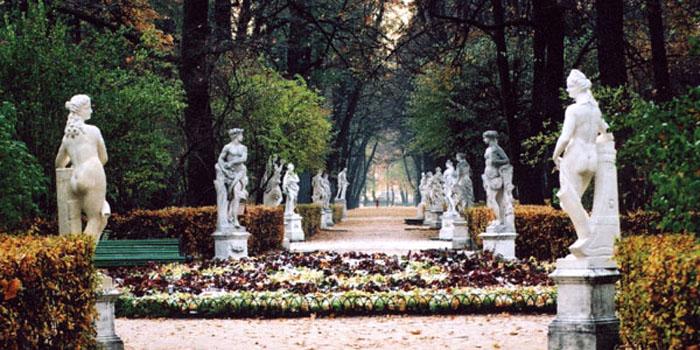 The Summer Garden, St. Petersburg, Russia.