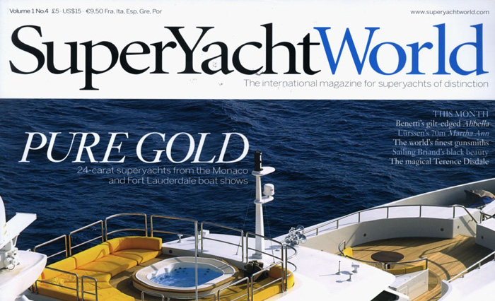 Superyacht World - 'The global magazine for superyacht owners'.