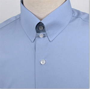Bromleys Light Blue Tab Collar Shirt: £84.95.
