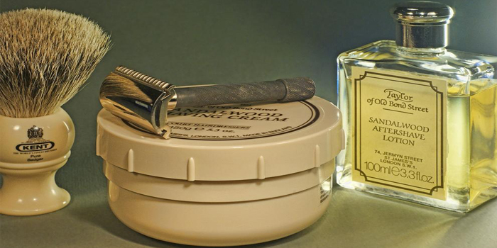 Shaving gear from Taylor of Old Bond Street, London, England, U.K.