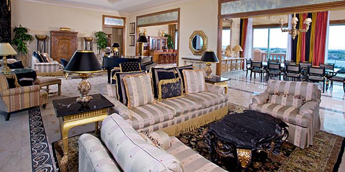 The Bridge Suite at Atlantis Resort & Casino's Royal Towers, One Casino Drive, Paradise Island, Bahamas.