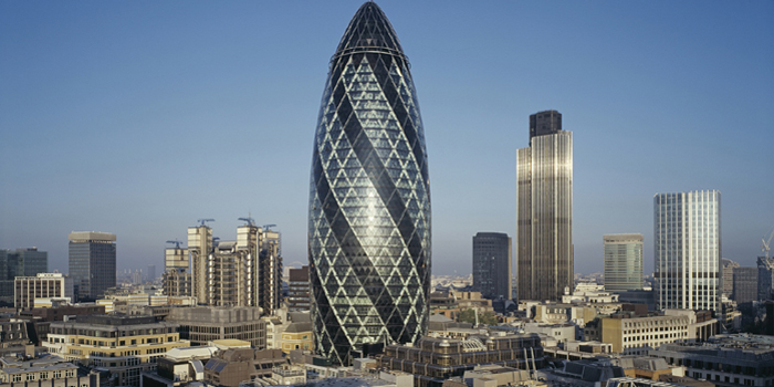 The Gherkin | 30 St Mary Axe, London, U.K.