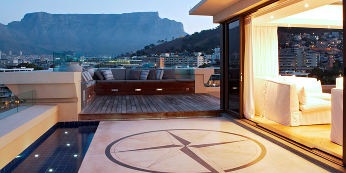 The One Penthouse at One&Only, Dock Road, Victoria & Alfred Waterfront, Cape Town 8001, South Africa.