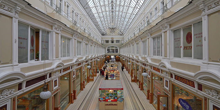 The Passage, Nevsky Avenue, Saint Petersburg, Russia.