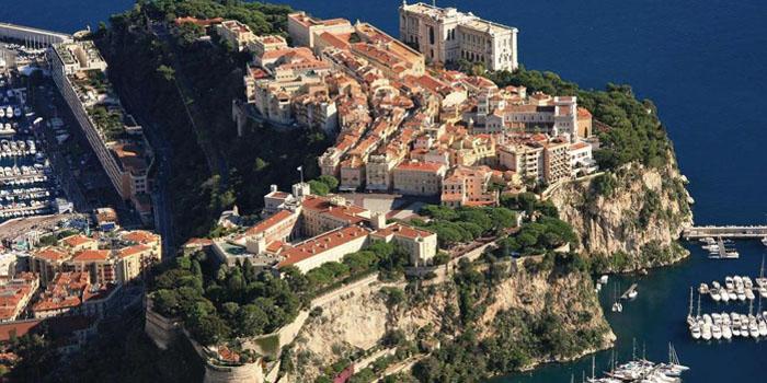 Monaco-Ville   The Rock.