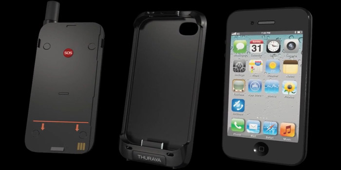 Thuraya SatSleeve - Bringing satellite connectivity to your iPhone.