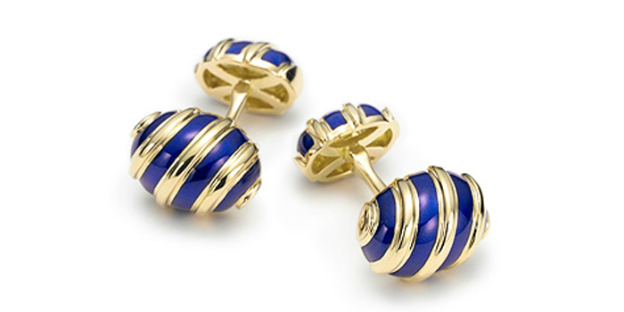 Tiffany & Co. Jean Schlumberger Olive cuff links: US$3,650.