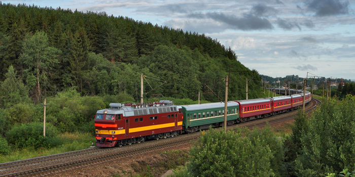 The Trans-Siberian Railway is a network of railways connecting Moscow with the Russian Far East and the Sea of Japan. It is the longest railway line in the world. There are connecting branch lines into Mongolia, China and North Korea. It has connected Moscow with Vladivostok since 1916 and is still expanded.