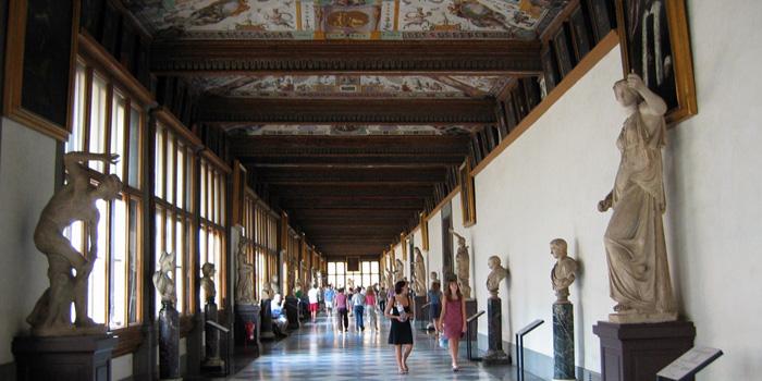 The Uffizi Gallery, Piazzale degli Uffizi, 6, 50122 Firenze (FI), Italy.