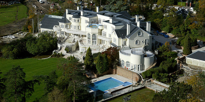 Updown Court, Windlesham, Surrey, England, U.K. The most expensive private home on the market anywhere in the world (2005).