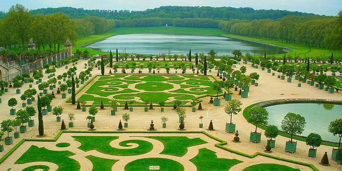 Gardens of Versailles, Château of Versailles, Versailles, France.