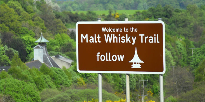 Welcome to the Malt Whisky Trail.