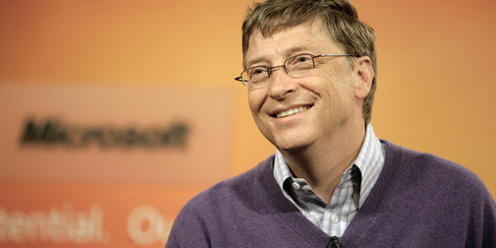 Bill Gates - world's richest man: US$80 billion (as of December 31, 2013. Bloomberg Billionaires).