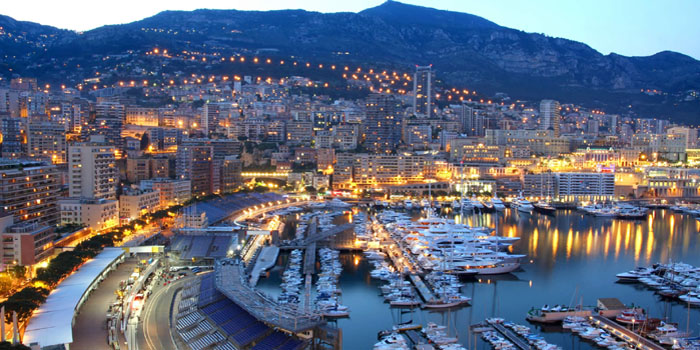 La Condamine is the second oldest district in Monaco, after Monaco-Ville. It is known for its distinctive wide harbor Port Hercule and moored expensive yachts.